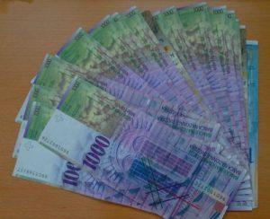 Преимущества и недостатки вклада в швейцарских франках