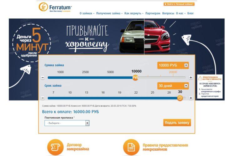 История микрофинансовой организации Ferratum