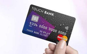 оформить онлайн кредитную карту тач банк
