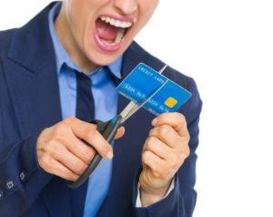 закрыть счет кредитной карты