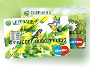 социальные и пенсионные карты Maestro от Сбербанка
