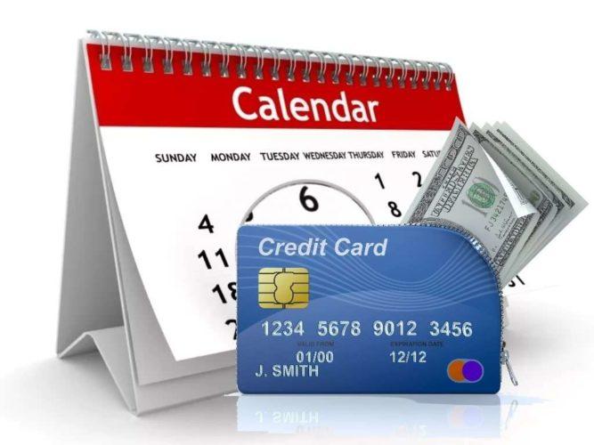 использование льготного периода кредитной карты